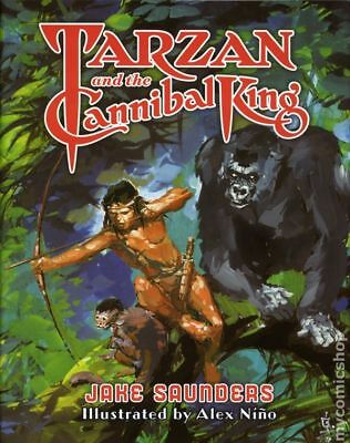 Tarzan and the Cannibal King HC Deluxe Edition #1LTD-1ST NM STOCK IMAGE