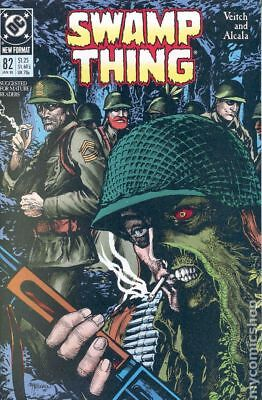 Swamp Thing (1982 2nd Series) #82 VF STOCK IMAGE