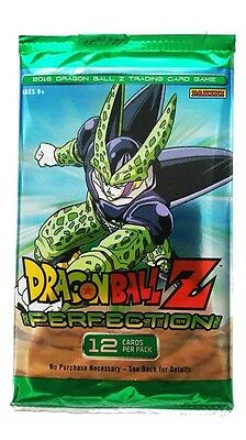 Dragon Ball Z. Perfection Trading Card Game Single Booster Pack New (Aus) Panini
