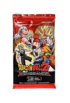 Dragon Ball Z. Vengeance Trading Card Game Single Booster Pack New (Aus) Panini