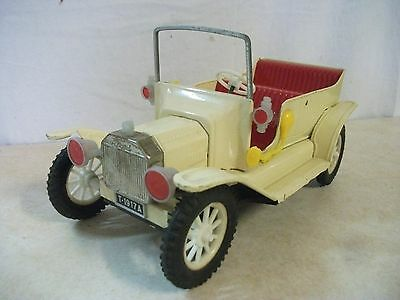 "Ford Model ""t"" Touring Tin Friction Toy Car"