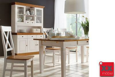 buffet kiefer massiv modell monaco white wash picclick de. Black Bedroom Furniture Sets. Home Design Ideas
