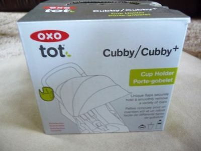 OXO Tot Cubby / Cubby+ Stroller Cup Holder NEW