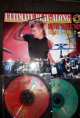 The Ultimate Play-along for Drums: Level 1, Vol.2 by Dave Weckl m. 2 CDs