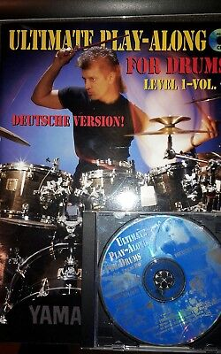 The Ultimate Play-along for Drums: Level 1, Vol.1 by Dave Weckl Deutsche Version