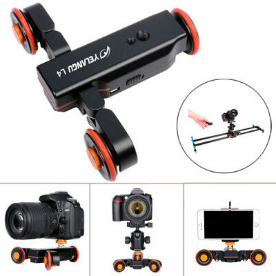 Autodolly Camera Dolly Electric Track Slider Video Rolling Car + Remote Control
