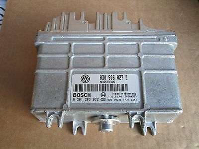 New Genuine Vw Polo Aer 1.0 Engine Ecu 030906027E 030906027Ex Genuine Vw Part