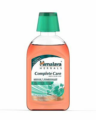 Himalaya Complete Care Mouthwash - Miswak & Pomegranate 215ml (Pack of 2)