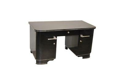 Beautiful Streamlined 1930's French Art Deco Desk