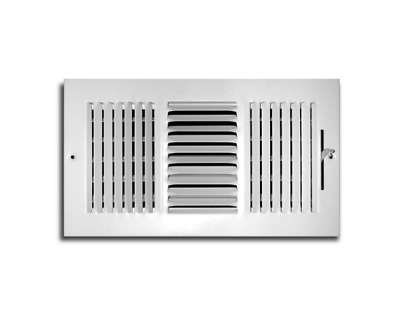 8 x 10 in 3 Way Adjustable Wall Ceiling Air Vent Ventilation HVAC Register Cover