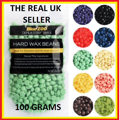 The Real Depilatory Pearl Hard Wax Beans, Beads Removal, 100G Grams, UK Seller