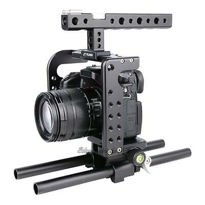 Camera Holder Mount Stabilizer Cage Handle Grip for Panasonic Sony GH4/GH5 DSLR
