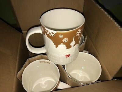 Starbucks Relief Berlin - Limited Edition Gold Germany Mug - 18oz/532ml
