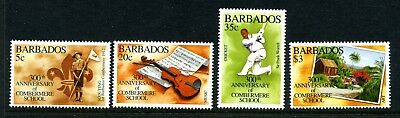 Barbados 1995 300Th Anniversary Of Combermere School Stamp Set
