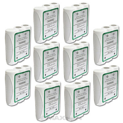 10 x For Motorola HNN9056 HNN9056A HNN9044A Ni-Mh 1000mAh Battery REAL CAPACITY!
