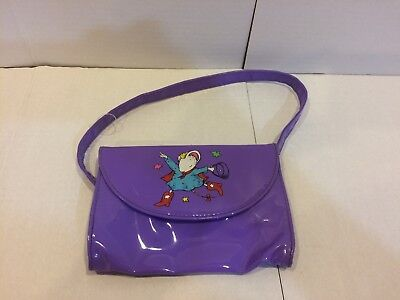 RARE Actual Purse!! - Lilly's Purple Plastic Purse - Costume Cosplay Lily's