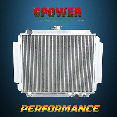 Aluminum Radiator For Holden Rodeo TF G3 G6 G7 SERIES 2.5 2.8 DIESEL 1988-1997