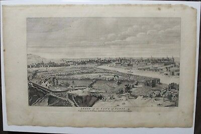 Original View of Paris from 1760