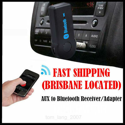 Wireless Car 3.5mm to Bluetooth Music AUX Audio Stereo Home Car Receiver Adapter