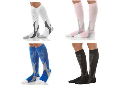 Mens Womens Compression Socks Stockings 30-40 mmhg Knee Support Stretch Running