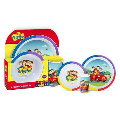 The Wiggles Dinner Set, 3 Piece Free Shipping!