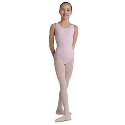 Girl's DanzNmotion by Danshuz Tank Leotard, Pink, 4-6