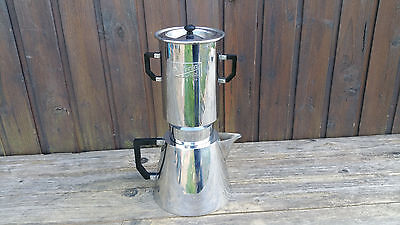Alte Kaffee - Teemaschine, Metall, Marke Selecta France, Art Deco Nr. 279