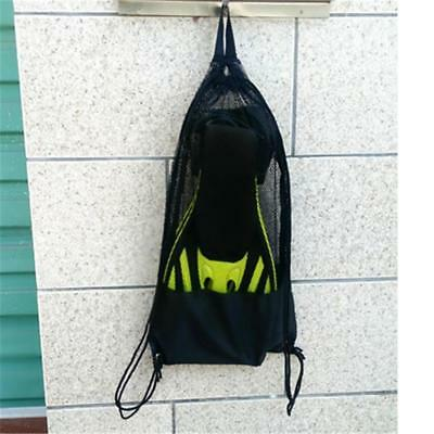 Mesh Gear Carry Bag & Shoulder Strap for Scuba Diving Equipment Mask Goggles