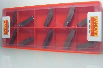 N123H2-0400-0004-TF 1145 SANDVIK CUTTING INSERTS CARBIDE INSERTS 10 pcs
