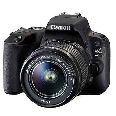 Canon EOS 200D Digital SLR & 18-55mm f3.5-5.6 III Lens Kit
