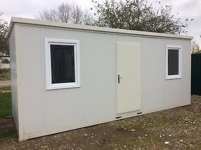 NEW Portable Flat Packed Office Cabin 6mtrs x 2.3mtrs (20ft x 8ft) £4300.00+VAT