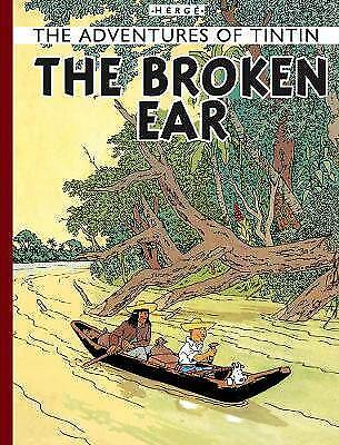The Broken Ear (The Adventures of Tintin),HB,Herge - NEW