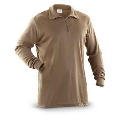 New Genuine Us Army Ecwcs Polypro Cold Weather Thermal Undershirt/shirt. Xxl.