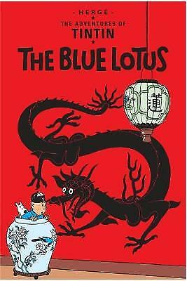 The Blue Lotus (The Adventures of Tintin),HC,Herge - NEW