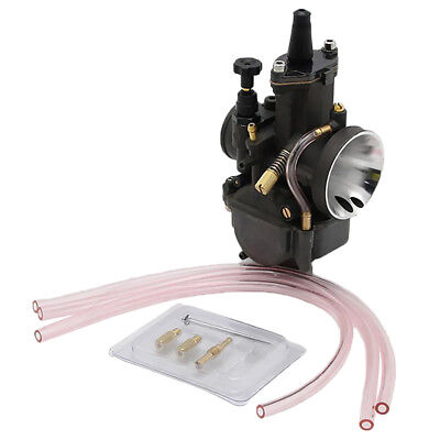 34MM Carb 28 Carburetor Kit With Power Jet For Keihin PWK Scooter ATV Quad