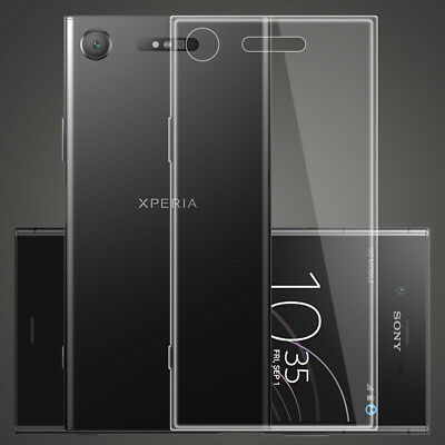 Ultra thin Clear Soft TPU Case Cover For Sony Xperia XZ1 XZ2 Compact XZ3 1 10+