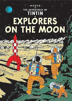 Explorers on the Moon (The Adventures of Tintin),HC,Herge - NEW