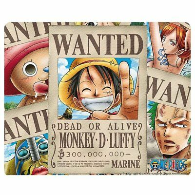 One Piece - Mousepad Mauspad - Wanted Pirates - 23 x 19 cm