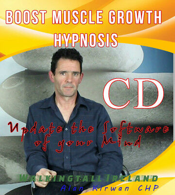 Boost Muscle Growth Hypnosis CD + Emotional Freedom Technique Bonus