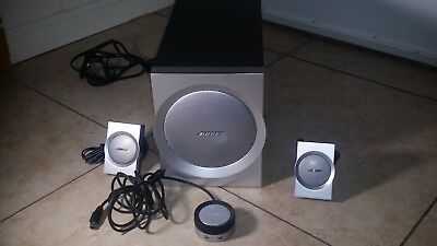 Bose Companion 3 SERIES I 1 Multimedia Computer Speakers System Complete