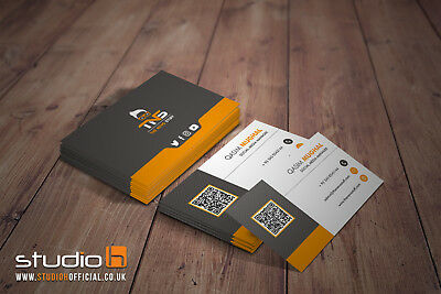 Professional Bespoke Custom Business Card Design   Unlimited Revisions 24HR
