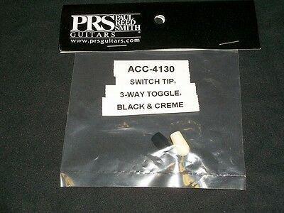 Paul Reed Smith 3 Way Toggle Switch Selector Cap Tip Set New Acc- 4130 PRS