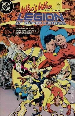 Who's Who in the Legion of Super-Heroes (1988) #1 VF STOCK IMAGE