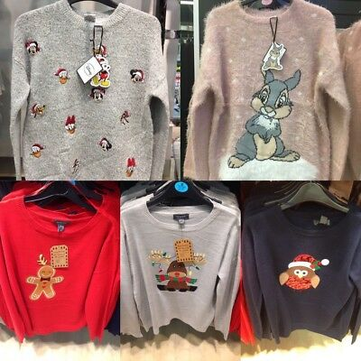 Primark Ladies Christmas Knitted Jumper Womens Xmas Novelty New Sweater 2017