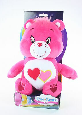 "CARE BEARS plush LOVE-A-LOT BEAR 12"" soft toy cuddly American Greetings - NEW!"