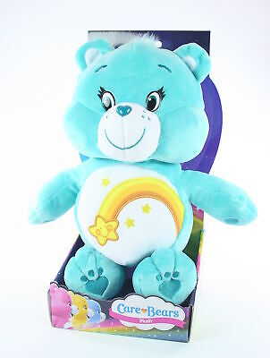 "CARE BEARS plush WISH BEAR 12"" soft toy cuddly American Greetings - NEW!"
