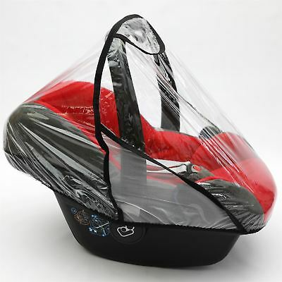 Rain Cover to fit STOKKE® BESAFE car seat Raincover VENTILATED (Black)