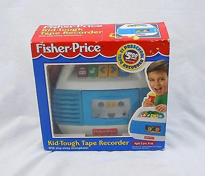 Fisher Price Kid Tough Tape Recorder w/ Microphone Extremely Rare NEW