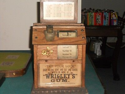 1890's Wrigley Gum Trade Stimulator