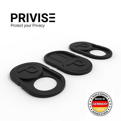 Deutschlands Nr.1 Webcam Cover/ Webcam Abdeckung -Made in Germany- / 3 er Set